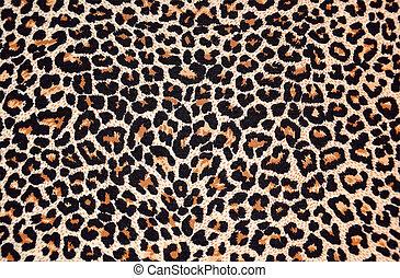 leopard, abstrakt, pälsfodra, struktur, (skin)