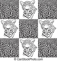 Leopard patterns for Textiles