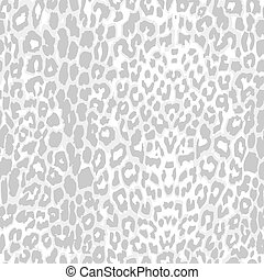 leopard print pattern gray scale vector. seamless grey...