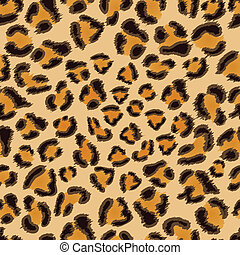 Leopard seamless pattern - Leopard seamless background for...