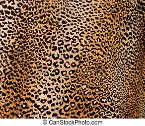 leopardo, fondo