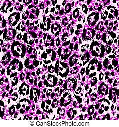 leopardo, pelle animale