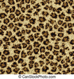 leopardo, piel