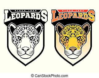leopards., mascotte