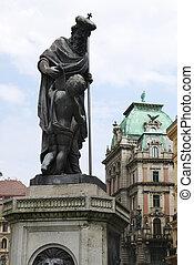 Leopold Fountain - Leopold fountain in the Graben street in ...