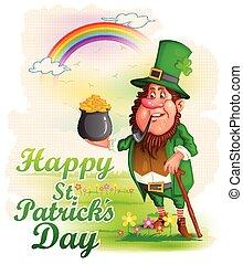 Saint Patrick's Day - Leprachun in Saint Patrick's Day...