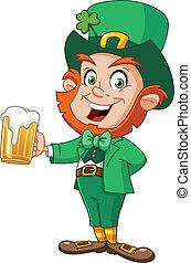 leprechaun, ビール