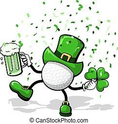 leprechaun, golfe