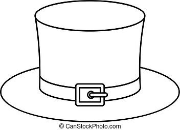Outline leprechaun. Outlined leprechaun presenting with ...