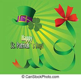 Leprechaun Hat. St. Patrick. Vector illustration