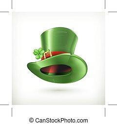 leprechaun kapelusz, ikona
