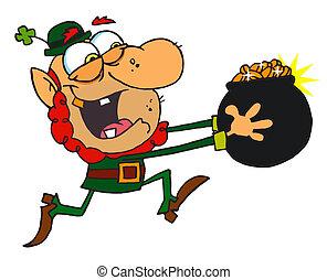 Leprechaun Run with a Pot of Gold - Greedy Leprechaun...