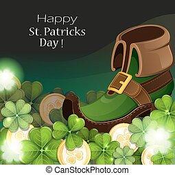 Leprechaun shoe
