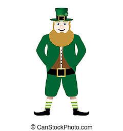 Leprechaun symbol of St. Patrick's