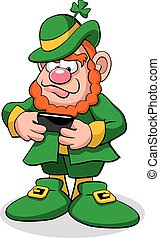 Leprechaun Texting