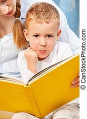ler, ensinar, difícil, assim