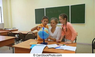 leren, de wereld