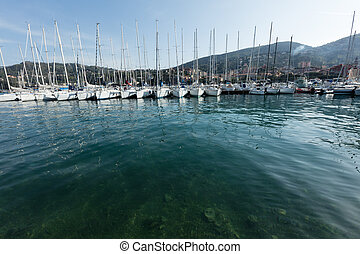 Lerici, Italy  view of port