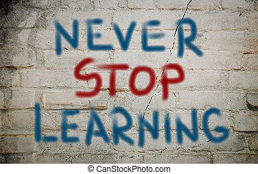 lernen, begriff
