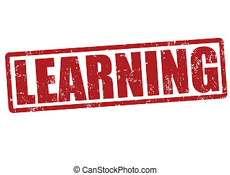 lernen, briefmarke