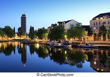 Les bords de l'Erdre (Nantes - France)