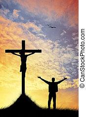les, croix