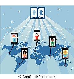 les, dieu, de, social, réseau