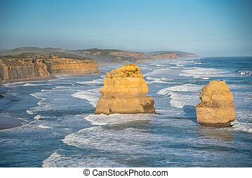 les, douze apôtres, grande route océan, australie