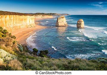les, douze apôtres, sur, les, grande route océan, australie