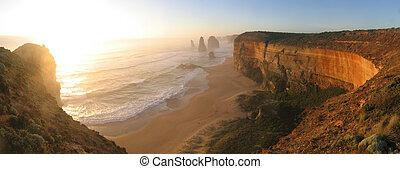 les, grande route océan, victoria, australie