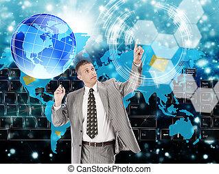 les, high-tech, internet