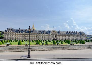 Les Invalides in Paris, France