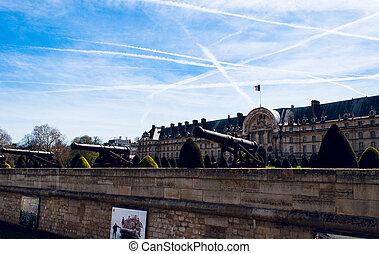 Les Invalides museum in Paris, France.