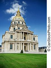 Les Invalides, Paris panorama