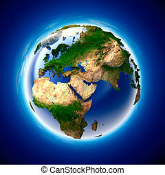 les, métaphore, de, écologie, et, pureté, de, les, terre...