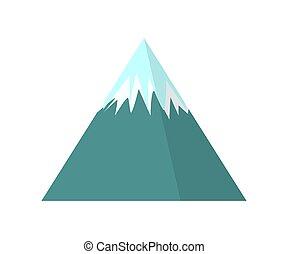 les, montagnes., nature., winter., cold., une, object., pour, ton, design.