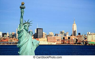 les, new york, midtown, horizon