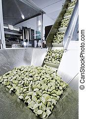 les, pâtes fraîches, industrie