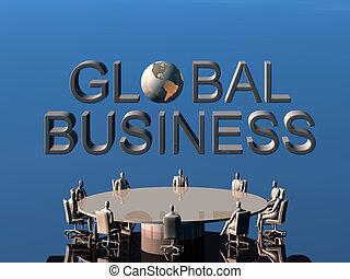 les, reussite, équipe, dans, global, conference.