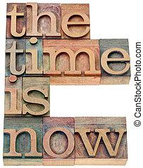les, temps, est, maintenant, dans, bois, type