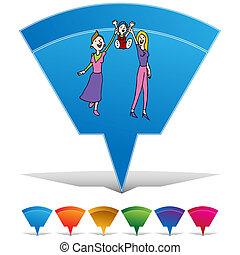 Lesbian Gay Adoption Button Set