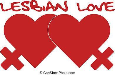 lesbian love sign