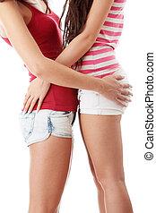 lesbienne, deux femmes