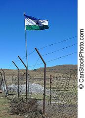 lesotho, 王国, 旗