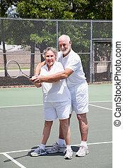 lessen, tennis, romantische