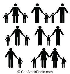 leszbikus, és, buzi, szülők