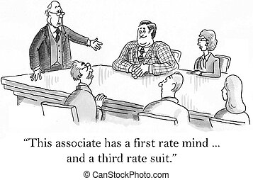 """Let me introduce a man with a first rate mind - """"This..."""