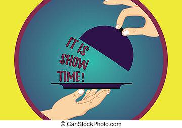 letra, texto, escrita, aquilo, é, mostrar, time., conceito,...