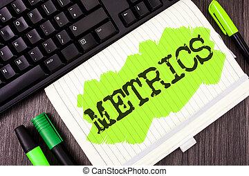 letra, texto, escrita, metrics., conceito, significado, método, de, medindo, algo, estudo, poético, metros, jogo, de, números, escrito, ligado, pintado, caderno, livro, ligado, madeira, fundo, marcador, e, teclado