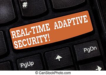 letra, texto, escrita, tempo real, adaptável, security., conceito, significado, accommodate, a, aparecimento, de, múltiplo, perimeters, teclado, tecla, intention, criar, mensagem computador, apertando, keypad, idea.